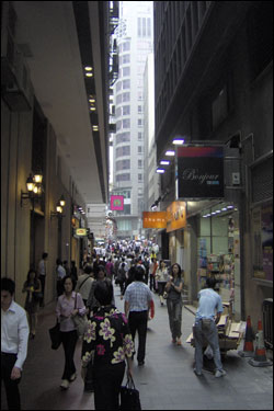 Busy street